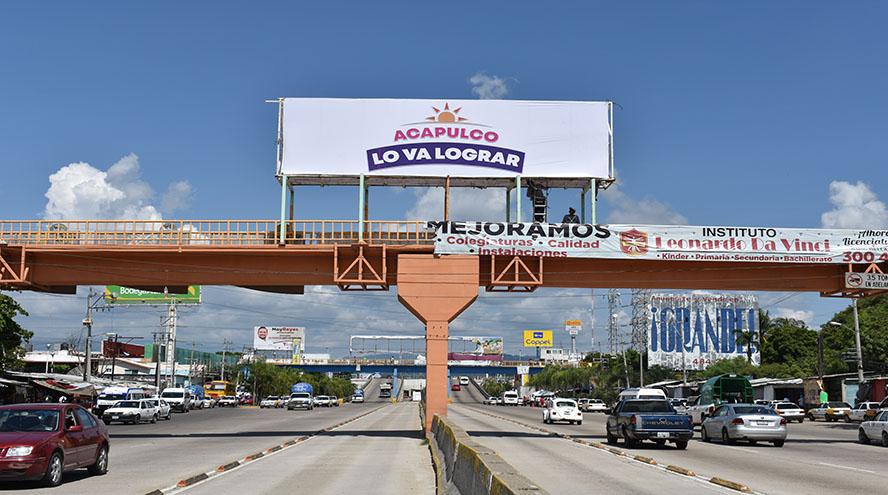 Renta de espectacular, espectaculares en acapulco