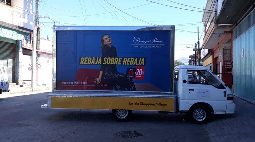 Publicidad exterior, vallas moviles